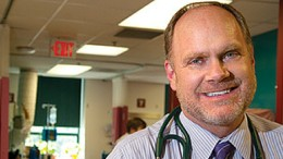 HIV researcher Jeffrey Lennox, MD (Division of Infectious Diseases)