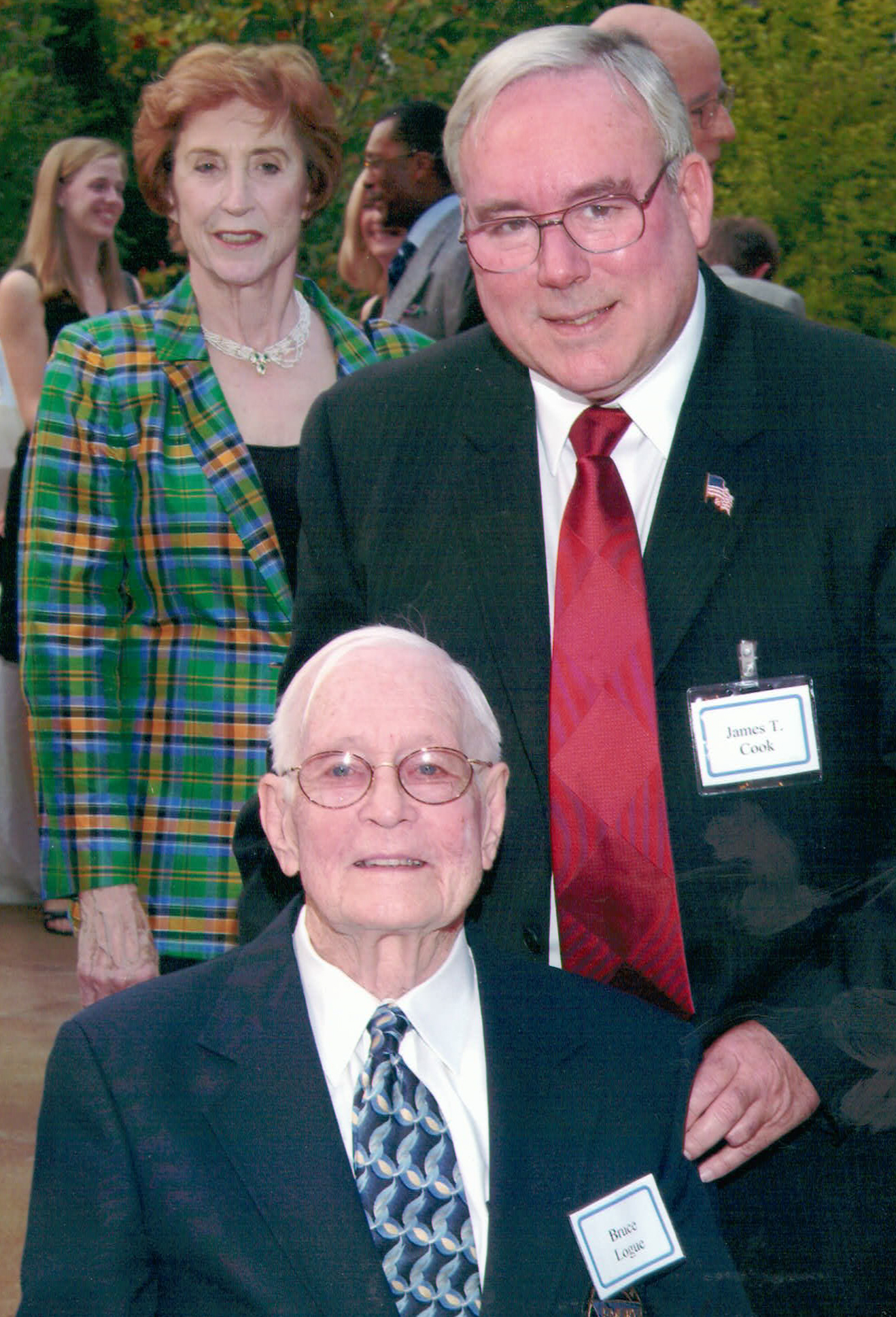 Bruce Logue, MD with James Cook, III, MD