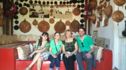 Traditional home in Harar, Ethiopia (Drs. Fayman, Streicher, Sweeney, and Stoff)