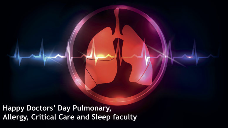 Pulmonary Emory Doctors' Day nominees