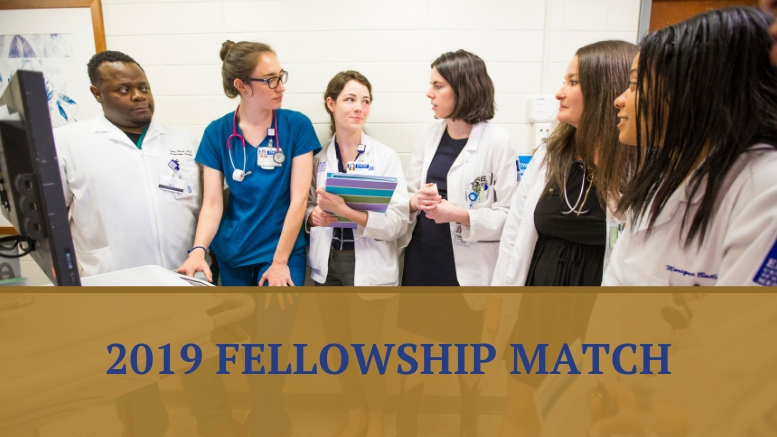 Department of Medicine 2019 Fellowship Match Results - Emory