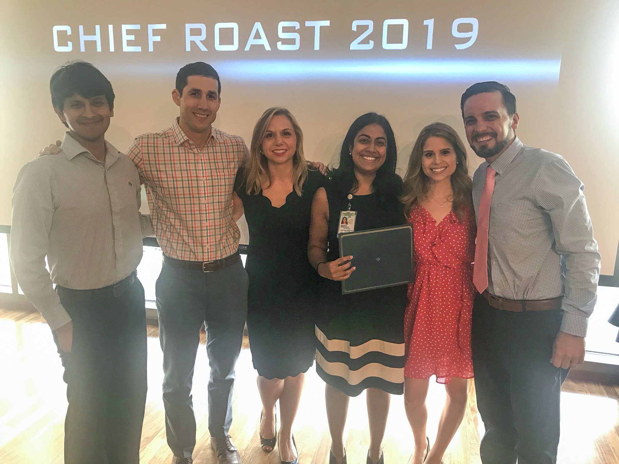 Chiefs' Roast and Toast 2019 – Honoring the departing IM chief